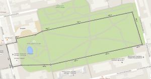 Strecke 1000m
